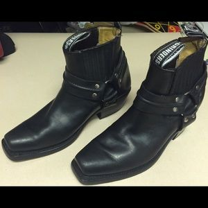 Grinders Renegade Lo Black Boots Size 10